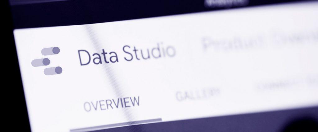 Tableau de bord Google Data Studio
