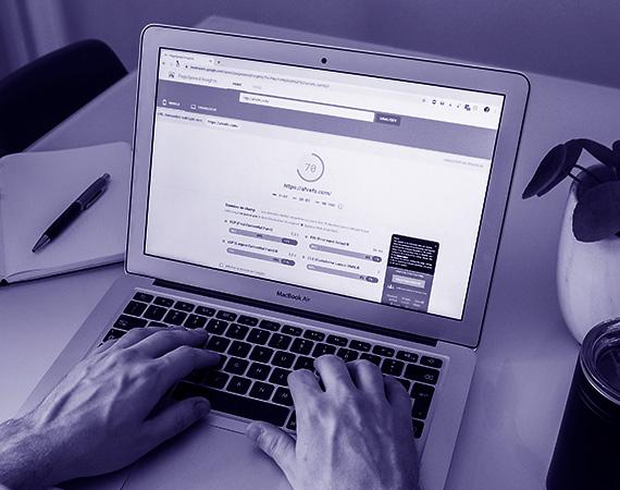 Regarder la vitesse de chargement d'une page web