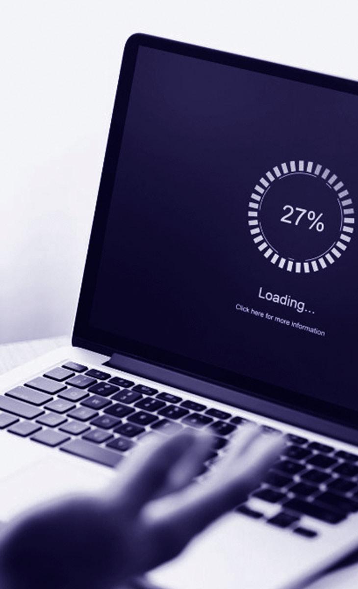 temps de chargement d'un site web